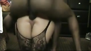 suitable doll  takes a big pecker up her bootie