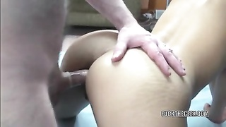 asian cutie Olivia is getting her candy donk torn up