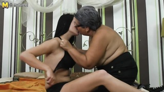 old and youthful lesbians licking donk and licking fuckbox