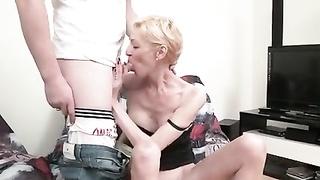Marie-Helene cheats on her spouse  with 2 boys