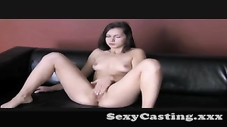 Casting - attractive bashful lady gets indeed  naughty