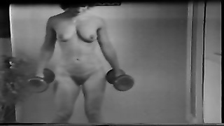 Yvonne keeping fit nude