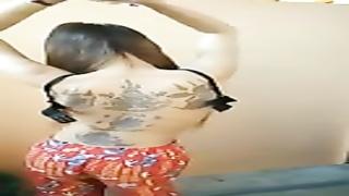 Khmer girl bf disrobe dance