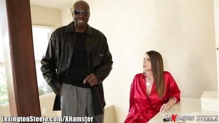 LexingtonSteele Brooklyn Chase Loves Huge Ebony Cock