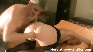 Extreme amateur wife is brutally fist fucked by her husband till she screams in orgasm