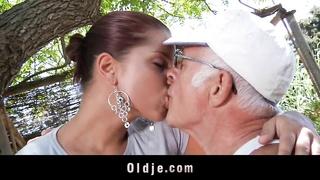 An old man fuck my girlfriend!