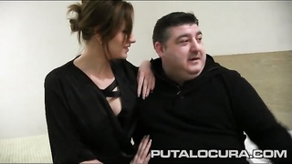 Dude shares his girlfriend in a hotel room