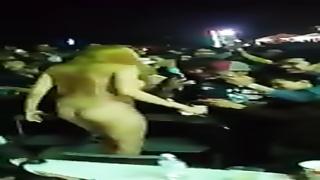 Khmer show ground naked festival