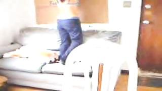 Jacky on webcam