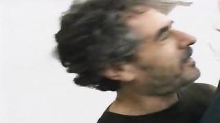 Husband watches wife take anal hardcore