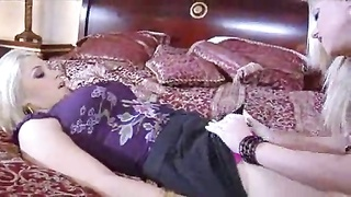 Wife wants a threesome with a super hot blonde