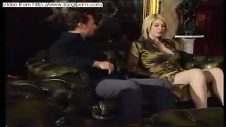 TopGFPorn brings you Blonde wife gets fucked on the sofa at home