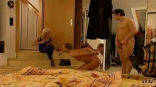 245872He is tied while crazy wife fucks another guy