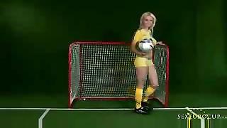 Swedish soccer babe
