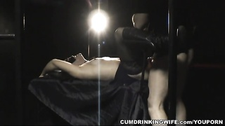 Adult Theater Creampie Gangbang with Hot Slutwife