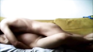 Arab girl fucked on Couch