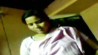 Bangla Desi 35 aged woman Big pussy show to hubby. OMG