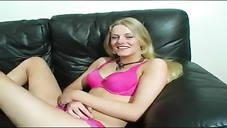 Cute British Babe In Double Casting
