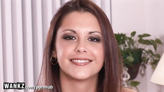WANKZ - Tight Teen Gets Fucked Hard For Her First Time on Camera!