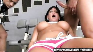 Tori Lane Takes Them Cocks Up Her Pussy And Ass