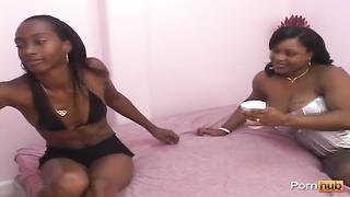 Lesbian Afro American Hair Pie 3 - scene 3