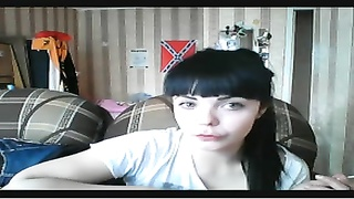 caugth to dina saunina webcam