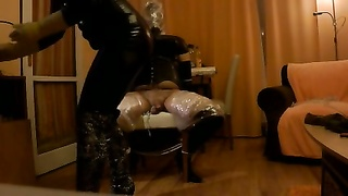 intense P.O.T. mistress hj inner most sesion with breathplay