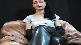 Sexy Leather Smoking More 120