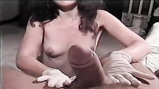 256629Latex Gloves And Lube Tug Job