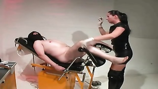 Brittish Dom Fucks Her Slave