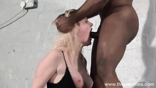 Brutal bi-racial mouth fucking and largest drill sergent excercise