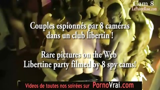 Camera espion en soiree privee ! French spycam351