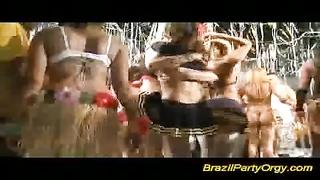 Brazilian party orgy hard fuck and oral gangbang sex