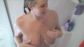Exquisite house wife pounds a Huge Black Cock