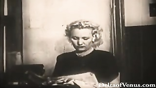 Vintage Porn 1940s - Blondie Will Get Inserted Into