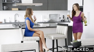 BLACKED Wives Abigail Mac and August Ames Delight In Heavy Ebony Coc