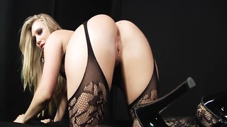 sexy blond takes anal-sex by Big Black Cock