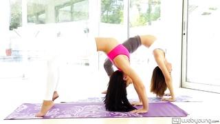 Alina Li and Adriana Chechik at WebYoung