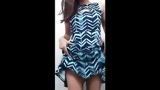 Novinha de vestido