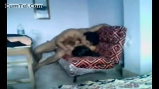 Indian Couple Having Sex On A Couch