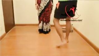 aroused and absolute best indian toes female dom