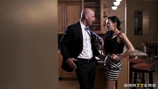 Hardcore relationship of brave Johnny Sins