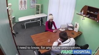 FakeHospital Spy on pretty teen slowly seduced and fuck