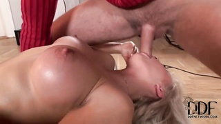 Kassey Krystal takes a dick in her mouth from hot start to exciting finish