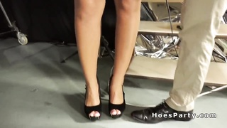 Rookies groupsex parties birthday party in tv studio