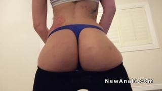 Perfect booty amateur anal fucks pov