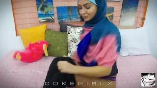 Muslim Hijab Arab Girl | Preview | DoggyStyle | CokeGirlx