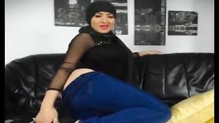 278118Hot muslim girl stripping n fingering hot round big ass