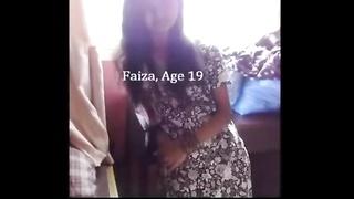 sex xxx clamped sexy indian female friend highschool scandal desi fanatic faiza