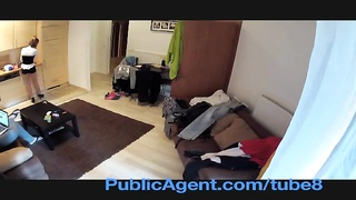 PublicAgent Novice flick with precisely the motel cleaner